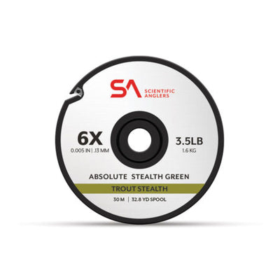 SCIENTIFC ANGLERS ABSOLUTE TROUT STEALTH TIPPET