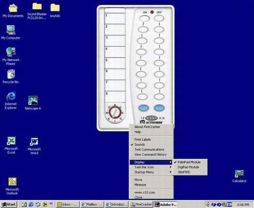 FireCracker Software Screenshot