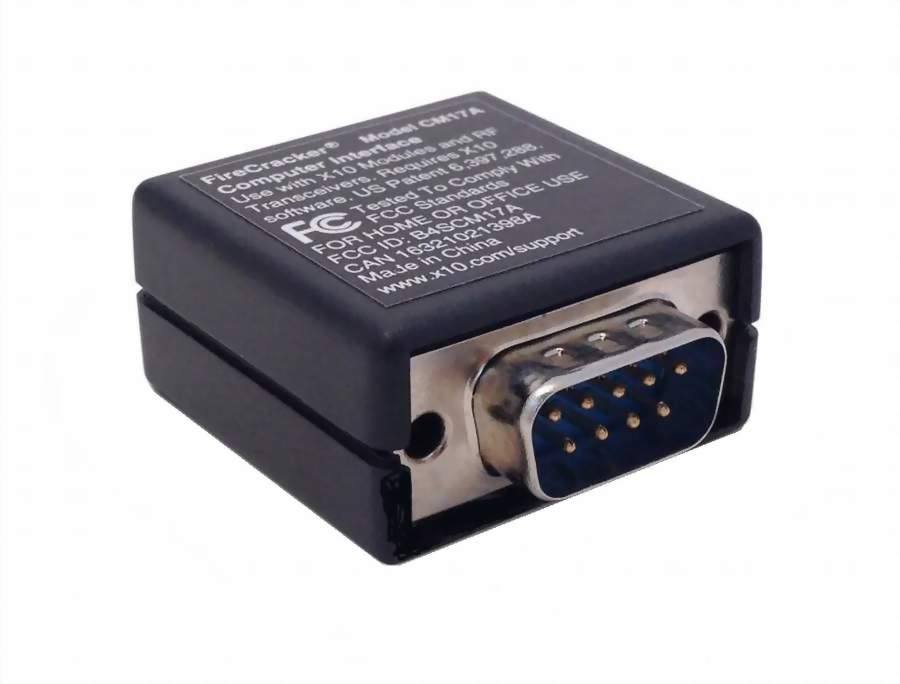 X10 FireCracker Serial Computer Interface CM17A – TheX10Shop