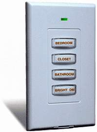 X10 Home Automation Slimline Wireless Switch SS13A