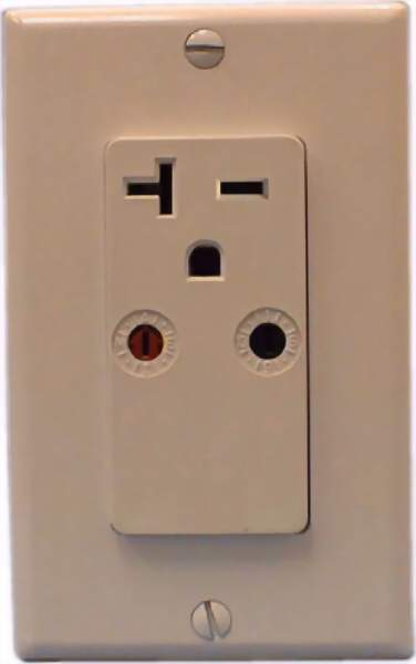 X10 PRO XPR2-I 250 VAC 20 Amp Single Wall Receptacle Outlet Module