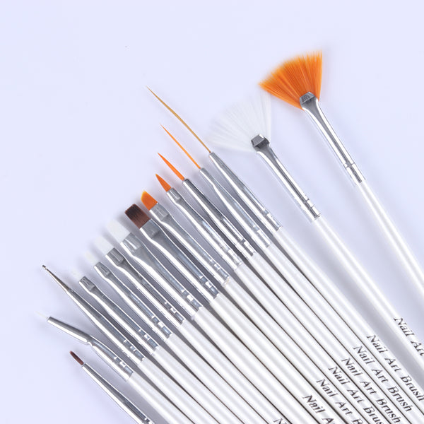 Nail Art Design Brush Set Eclectic Shed