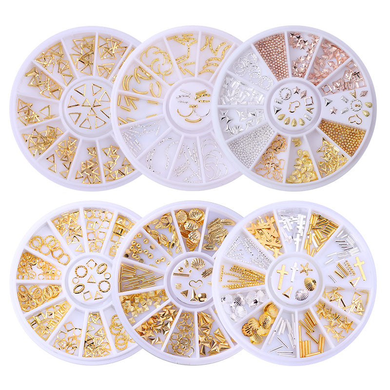 3D Nail Art Wheels – Eclectic Shed
