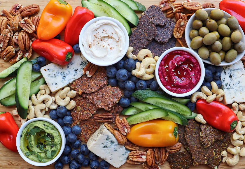 Healthy Dips For Your Next Cheese Board