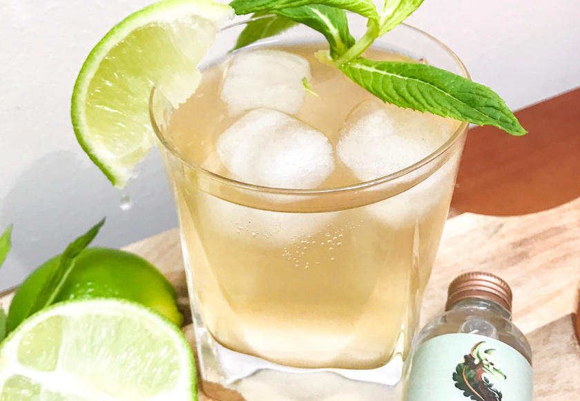Spiced Apple Mocktail feature image