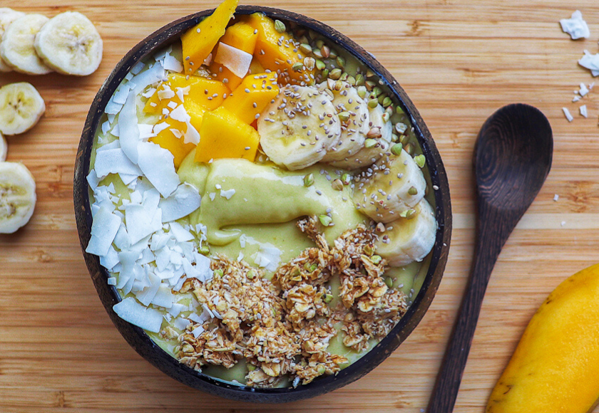 Pina Colada Smoothie Bowl feature image
