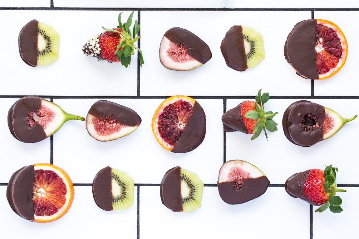 Chocolate-Dipped Fruit Bites feature image