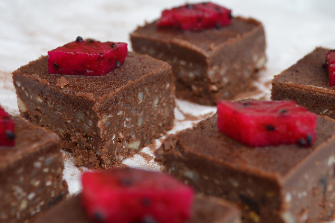 3-Step Raw Chocolate Brownies feature image