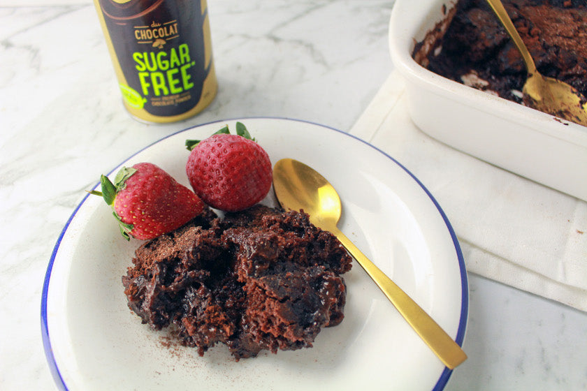 Self-Saucing Chocolate Pudding feature image