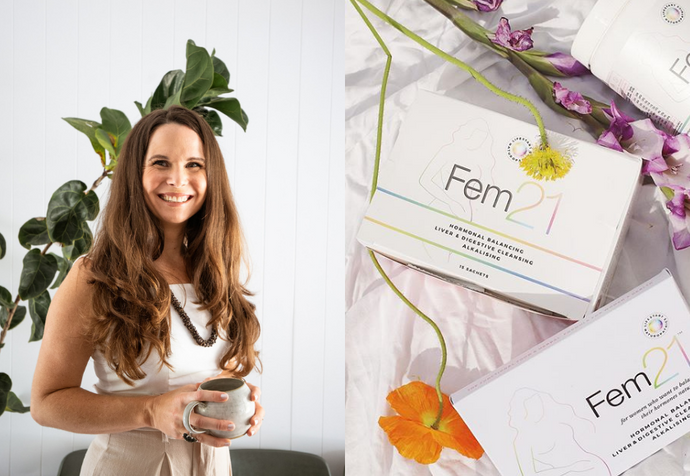 We Talk Hormones With Meah Robertson, Naturopath & Founder of Fem21