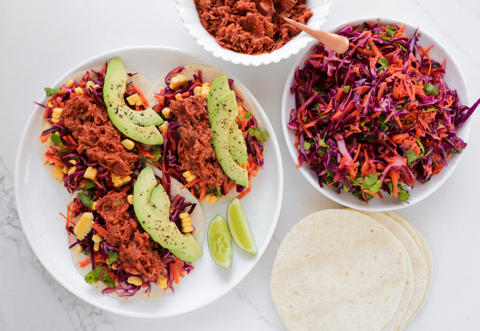 Recipe: Easy Vegan Jackfruit Tacos