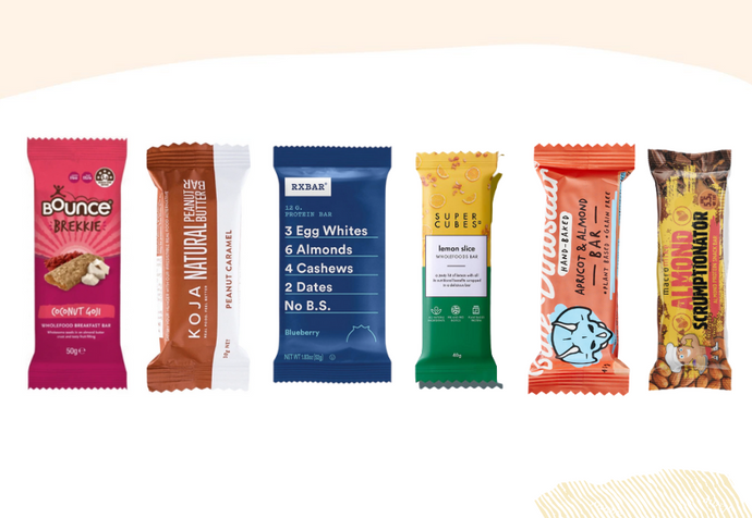 6 Wholefood Snack Bars To Fuel Your Work Day