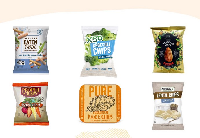 The Healthiest Veggie Chips To Put On Your Savoury Snack Radar