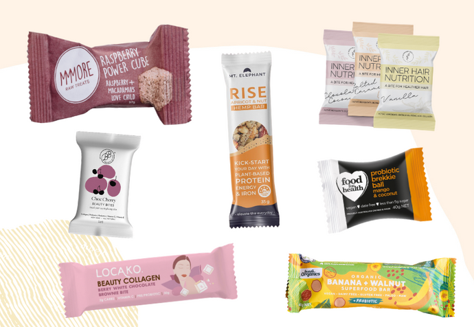7 Of Our Favourite Wholefood Snack Bars for Healthy Hair & Skin