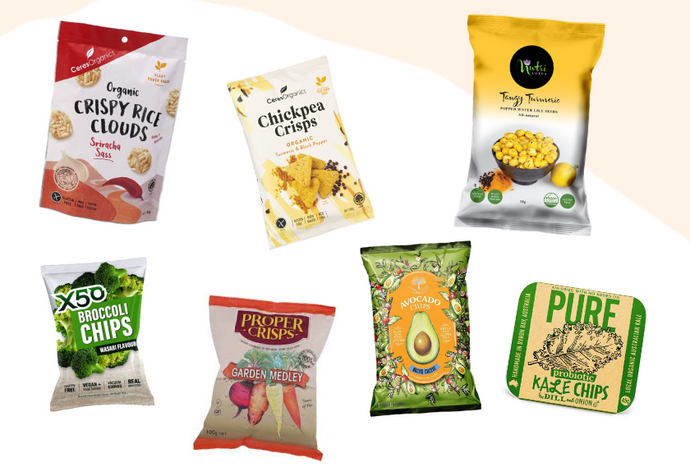 7 Healthier Savoury Chip Swaps For When You're Craving A Salty Snack