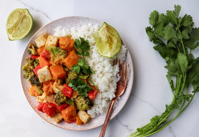 Winter Warmer: Thai Green Veggie Curry