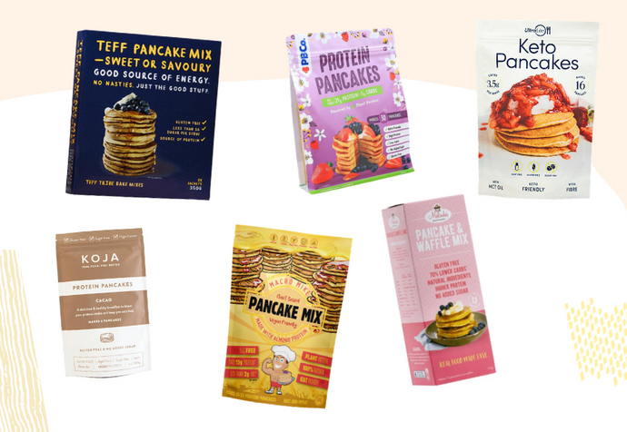 6 Healthy, Ready-Made Pancake Mixes To Save You Time At Breakfast