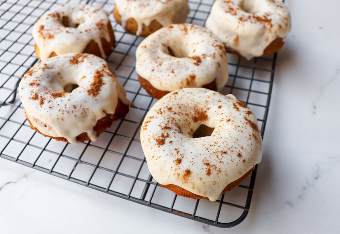 Recipe: Refined Sugar-Free Cinnamon Glazed Donuts