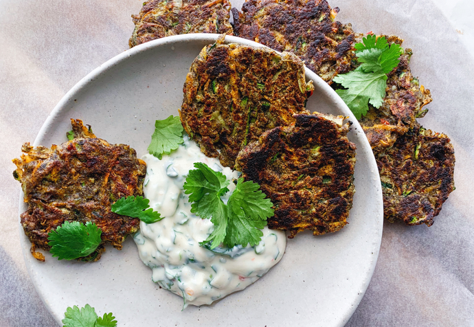 Recipe: Easy Veggie Fritters