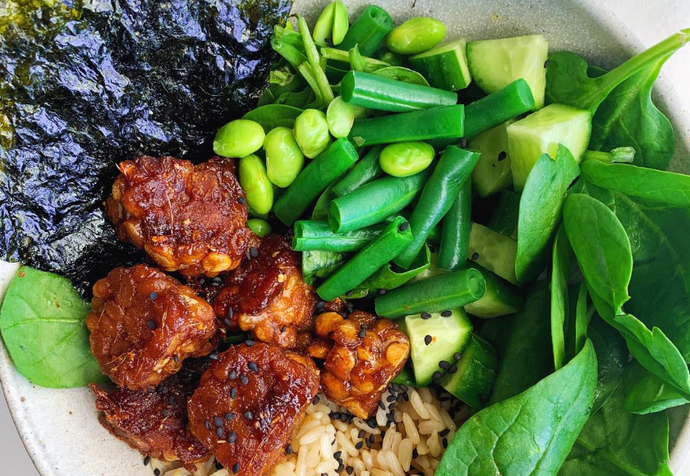 Recipe: Vegetarian Maple Tamari Poke Bowl