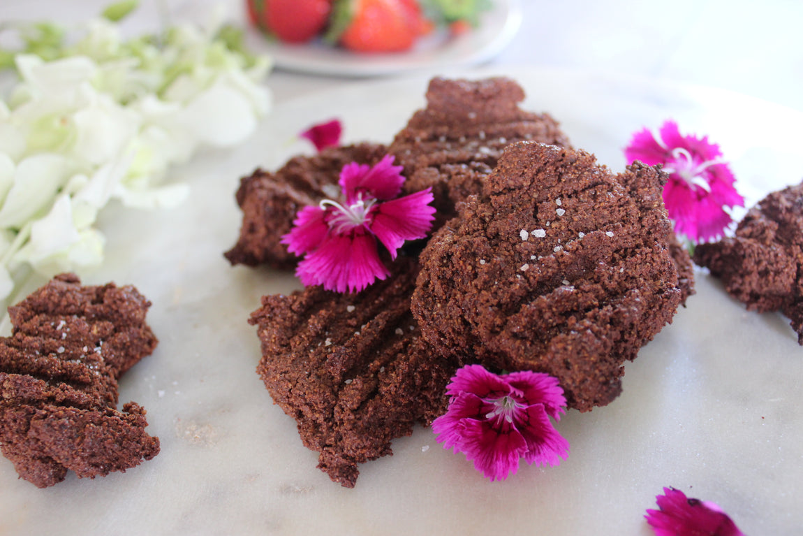 Salted Choc Teff Cookies feature image