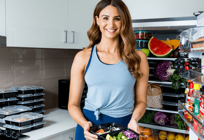 Katie Lolas' Top Tips On Creating Healthy Habits (And Nailing Meal Prep)