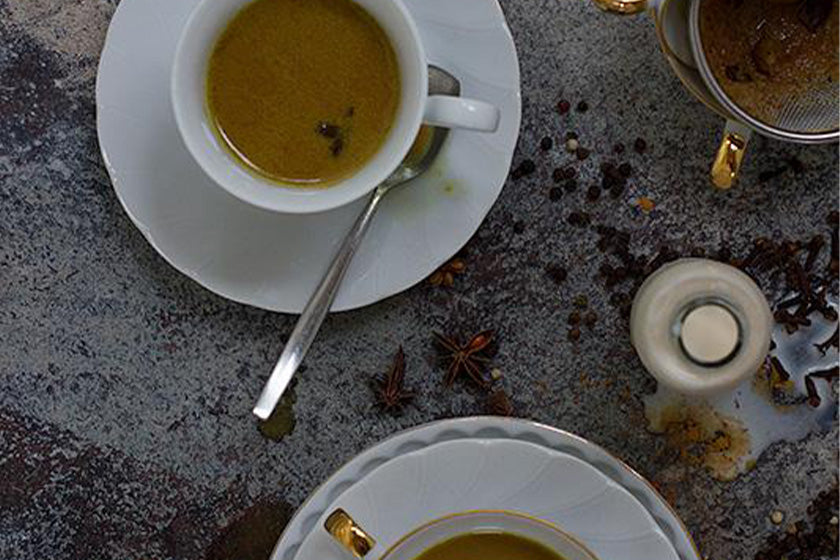 Tumeric & Ginger Chai Tea feature image