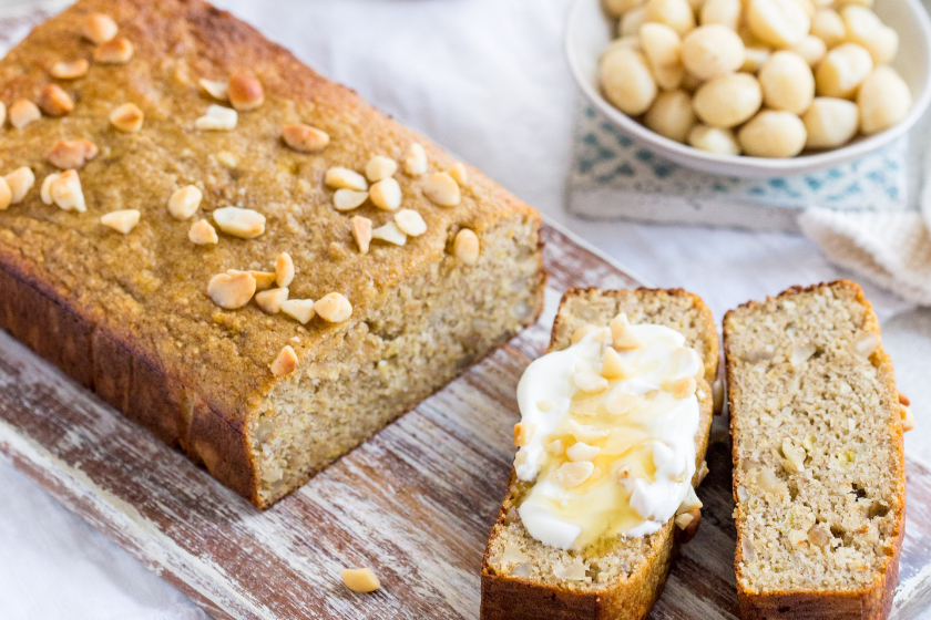 Sugar-Free Gut Friendly Banana Bread feature image
