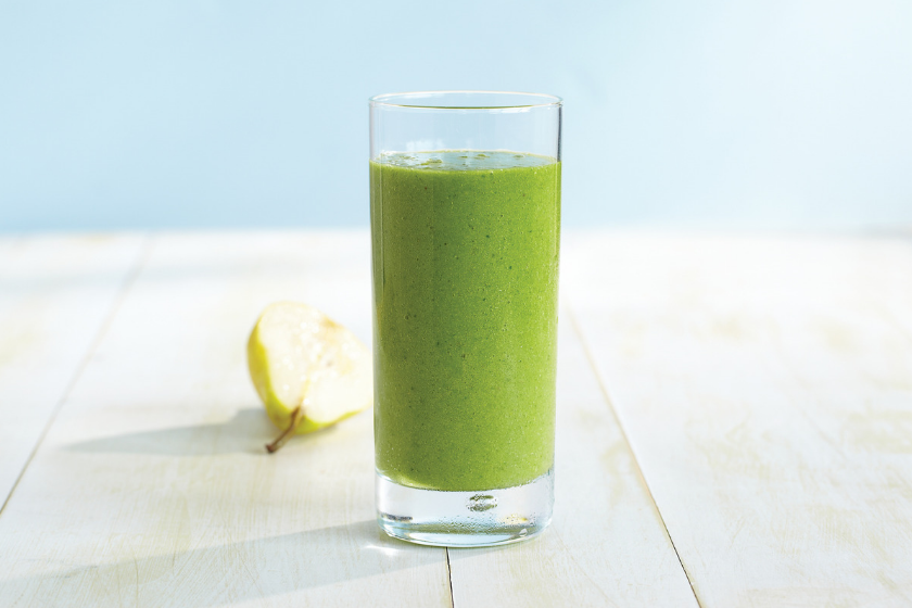 Kale and Pear Green Smoothie Recipe feature image