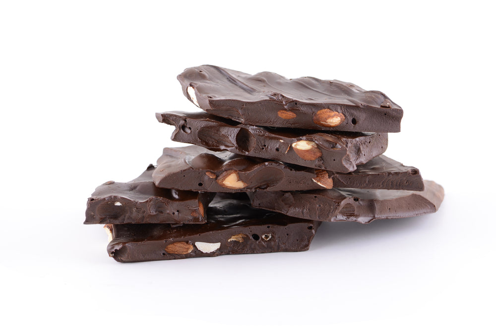 Sugar Free Nutty Chocolate Bark feature image