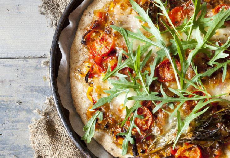 Healthy Homemade Pizza feature image