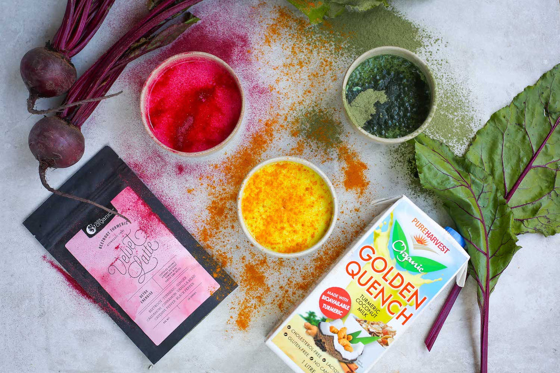 Latte Trends: Turmeric, Beetroot, Matcha and Charcoal feature image