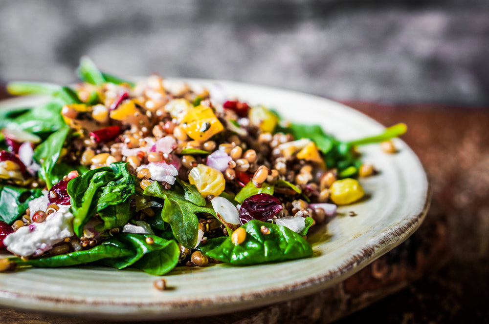 Five Healthy Ways to Spice Up Your Salad feature image