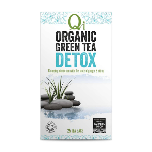 Qi Organic Green Tea DETOX - GoodnessMe