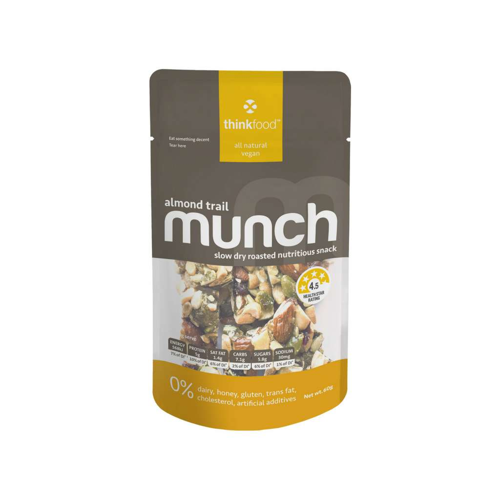 Thinkfood - Almond Trail Munch 60g