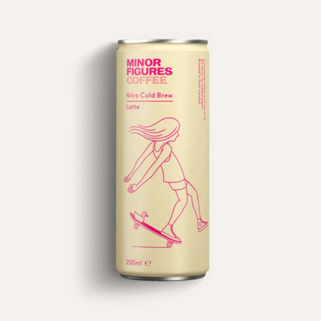 Minor Figures Nitro Cold Brew Latte