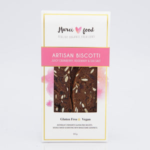 Marci Foods Artisan Biscotti Cranberry, Rosemary & Sea Salt 80g