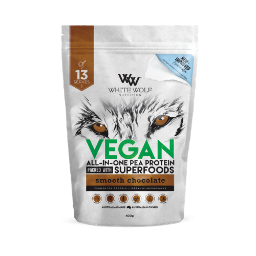 White Wolf Nutrition Vegan Superfood Protein Blend - Chocolate