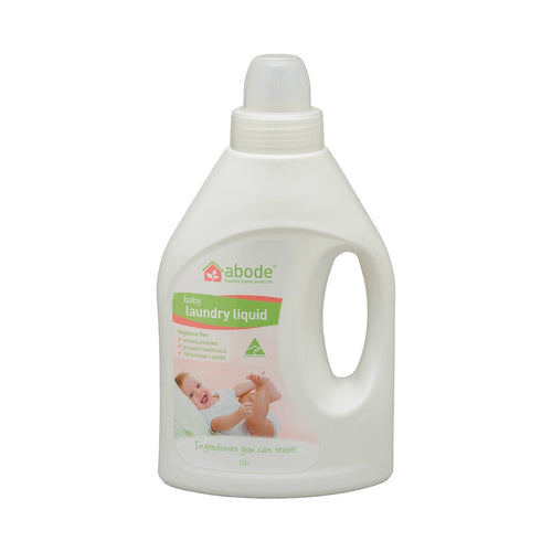 Abode Laundry Liquid Baby 1L - GoodnessMe