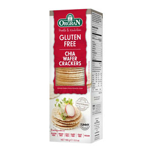 Orgran Wafer Crackers Chia 100g