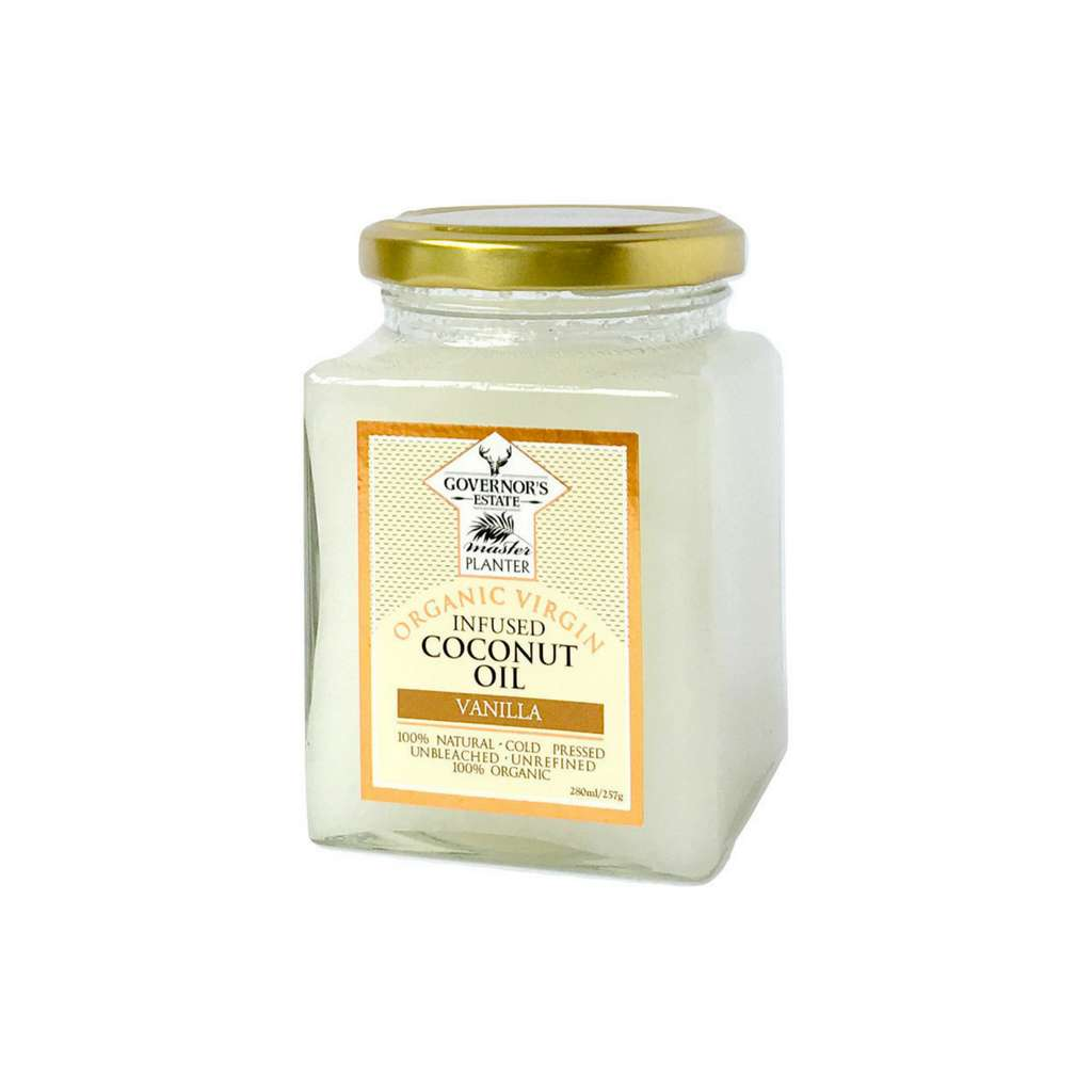 Governor's Estate - Organic Virgin Coconut Oil Infused Vanilla 257g