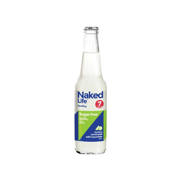 Naked Life - Lemonade with Cucumber 330ml