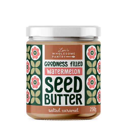 Lori's Wholesome Pantry Watermelon Seed Butter Salted Caramel - GoodnessMe