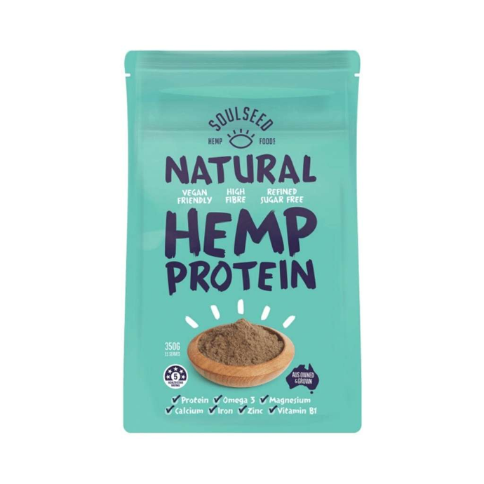 Soul Seed Hemp Natural Protein Powder 350g