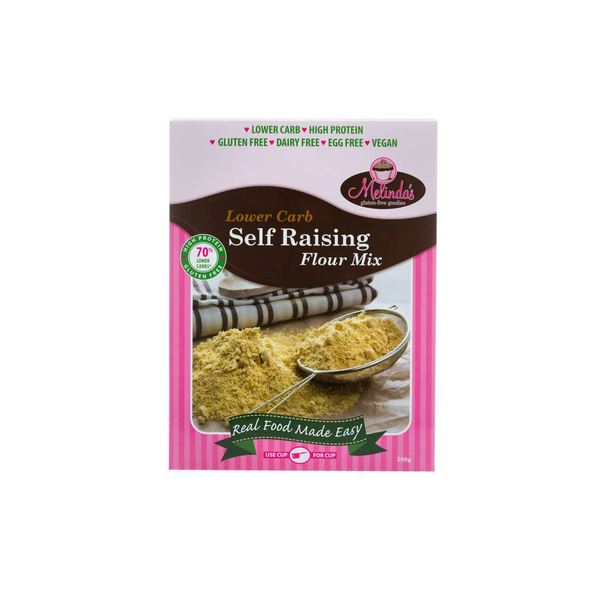 Melinda's Gluten Free Goodies - Lower Carb Self Raising Flour Mix 500g