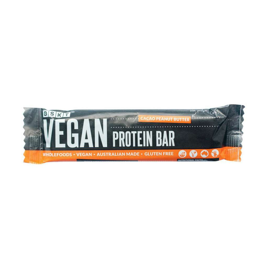 BSKT Wholefoods - Cacao Peanut Butter Protein Bar 40g