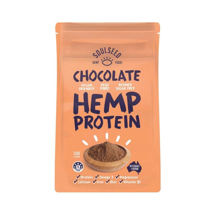 Soul Seed Hemp Chocolate Protein Powder 350g