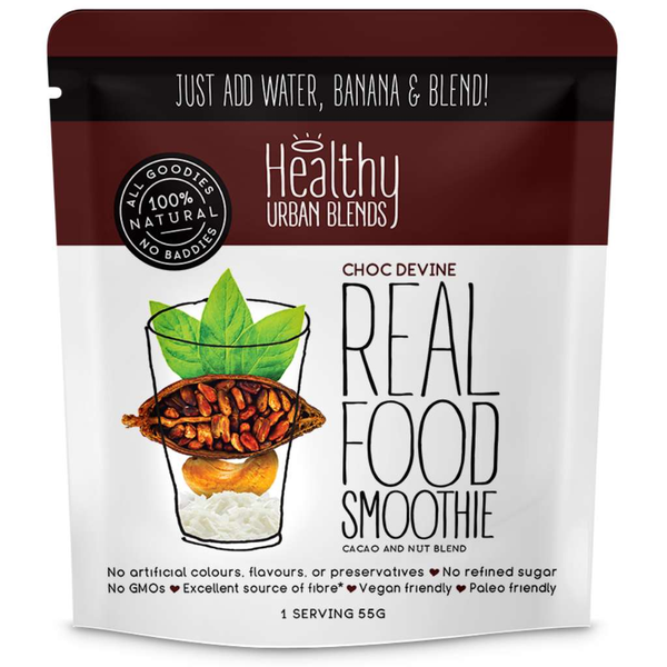 Healthy Urban Blends Real Food Smoothie Choc Devine 45g