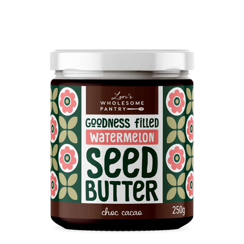 Lori's Wholesome Pantry Watermelon Seed Butter Choc Cacao