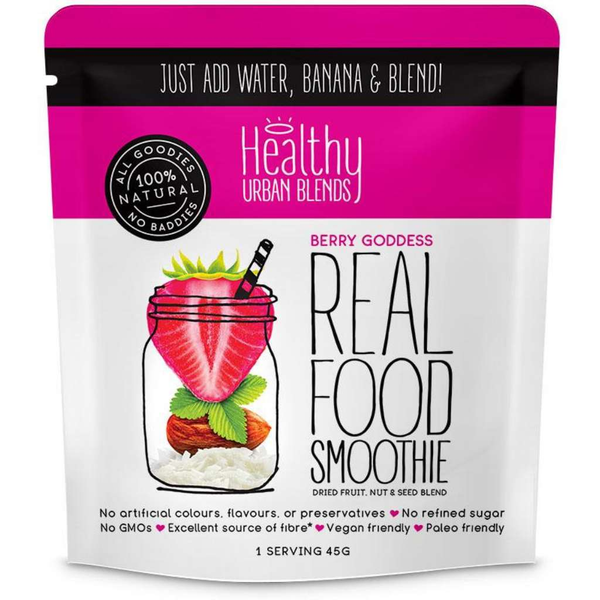 Healthy Urban Blends Real Food Smoothie Berry Goodness 45g